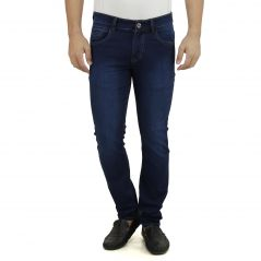 Stylox Dark Blue Jeans Doby Full Lycra Slim Fit