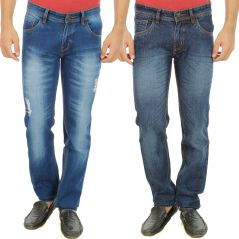 Stylox Mens Set Of 2 Regular Fit Denim - ( Product Code - DN-6002-5-2DNM )