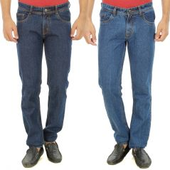 Stylox Mens Set Of 2 Regular Fit Denim - ( Product Code - DN-6008-9-2DNM )