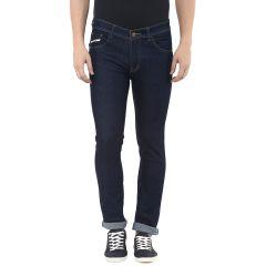 Jeans (Men's) - Stylox Mens Dark Blue Slim Fit  Jeans (Product Code - DN-CB -S-4010)