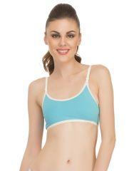 Clovia Non-Padded Teenage Bra In Blue  Bb0005P03