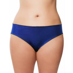 Cloe Women's Clothing - Cloe Fashion Stretchable Brief In Blue And Yellow PN0208Q22