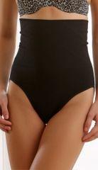 Clovia High Waist Tummy Control Panty In Black SW0001F13