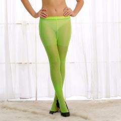 Cloe Light Weight Stockings In Green  ST0020W11