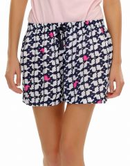 Clovia   Rabbit Printed Cotton Shorts  Ns0386P08