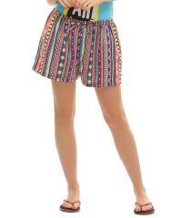 Clovia Cute Shorts With  Fun Tribal Prints  Ns0500P16
