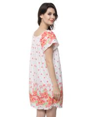 Clovia Cotton Blended Short Nightdress (Product Code - Ns0527P18H )