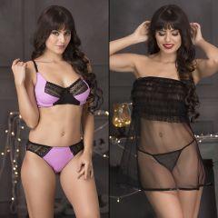 81af48d3db1 Buy Kamx New Women s Lingerie Lace Nightwear Underwear White ...
