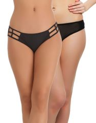 Clovia Pack Of 2 Panty In Multi Color-(Product Code-PNC001C29)