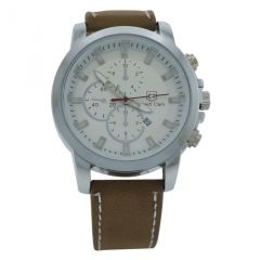 Edwin Clark Analog Chronograph  Watch For Men With Date Display - MW-054