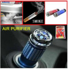 Mini Auto Car Freshener Air Purifier Ionizer Ionic Oxygen Bar