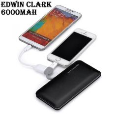Edwin Clark 6000mAh Universal Power Bank - ED6000