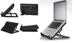 Ergostand Adjustable Laptop Stand And Cooler With USB Fan