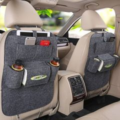 3d Car Auto Seat Back Multi Pocket Storage Bag Organizer Holder Hanger Accessory