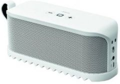 White Jabra Solemate Mini Bluetooth Speaker - JBSSW