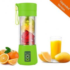 Shopper52 Mini Portable USB Rechargeable Electric Juicer 380ml - Juice603