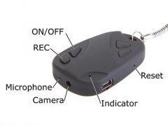Car Keychain With Hidden Spy Camera Recording DVR