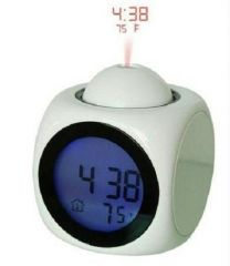 Shopper52 Digital LCD Projection Clock With Alarm - LCDCK