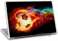 Fire Football Laptop Notebook skins high Quality Vinyl Skin - LP342