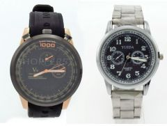 Buy 1 Get 1 Free - Designer Mens Stylish Wrist Watch MW013