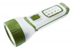 Ultra Super Rechargeable Torch With LED Power Light- (code- Rpc281)