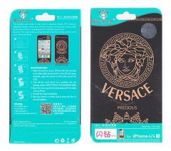 Designer Front and Back Screen Protector Skin For Apple iPhone 4 4S SCR4023