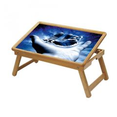 Multipurpose Foldable Wooden Study Table (001)