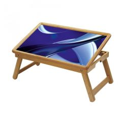 Multipurpose Foldable Wooden Study Table (025)