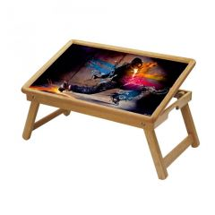 Spiritual Multipurpose Foldable Wooden Study Table For Kids - Study 103