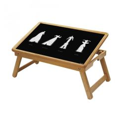 Dance Multipurpose Foldable Wooden Study Table For Kids - Study 526