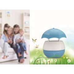 Non-Radioactive Led Photocatalyst Suction Style Environmental Mosquito Killer Lamp Repeller