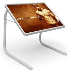 Sharukh Khan Table Designer Portable Adjustable Dinner Cum Laptop Tray Table 438