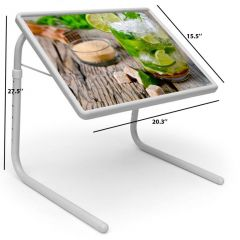 Nature Table Designer Portable Adjustable Dinner Cum Laptop Tray Table 485