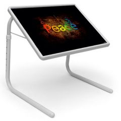Peace Portable Adjustable Dinner Cum Laptop Table Tray PTM10