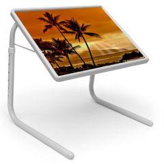 Table Mate Designer Portable Adjustable Dinner Cum Laptop Tray Table (132)