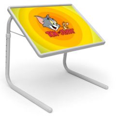 Tom And Jerry Portable Adjustable Dinner Cum Laptop Table Tray