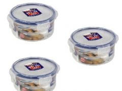 Lock&Lock Classic Round Food Container, 300 Ml