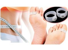 Shop or Gift Gadget Hero's Japanese Weight Loss Magnetic Slimming Toe Ring Online.