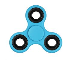Gadget Hero's Fidget Spinner Toy, Stress Reducer. Perfect For ADD, ADHD ( Blue )