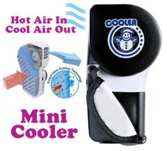 Air coolers - Gadget Hero's Mini Portable Hand Held Air Conditioner Fan Evaporativ Cooler