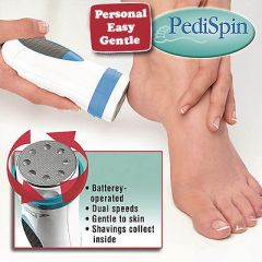Gadget Hero's PediSpin Professional Callus Dead & Dry Skin Remover