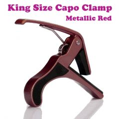 Gadget Hero's King Electric Acoustic Guitar Quick Change Capo Tirgger Clamp