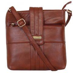 ESBEDA Ladies Sling Bag Brown Color (MSA01_1371)