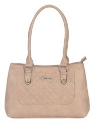 ESBEDA ladies Hand Bag Beige color (SH210716_1432)