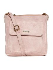 ESBEDA Light Pink Color Solid Women's Slingbag