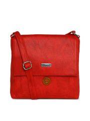 ESBEDA Red Color Solid Women's Slingbag