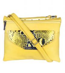 ESBEDA Yellow Color Graphic Print Women's Slingbag