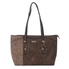 ESBEDA Brown Color Pu Synthetic Handbag For Women's (Product Code - 1608)