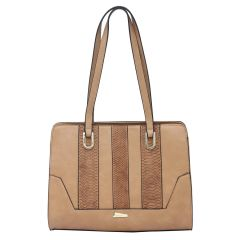 ESBEDA Brown Color Pu Synthetic Handbag For Women's Brown (Product Code - 1609)   Brown