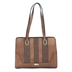 ESBEDA Coffee Color Pu Synthetic Handbag For Women's Dark Brown (Product Code - 1610)   Dark Brown